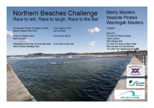Northern Beaches Challenge Flyer
